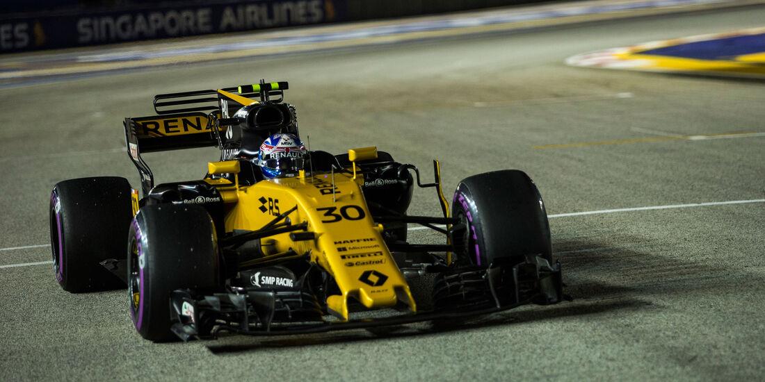 Jolyon Palmer - Renault - GP Singapur 2017 - Rennen