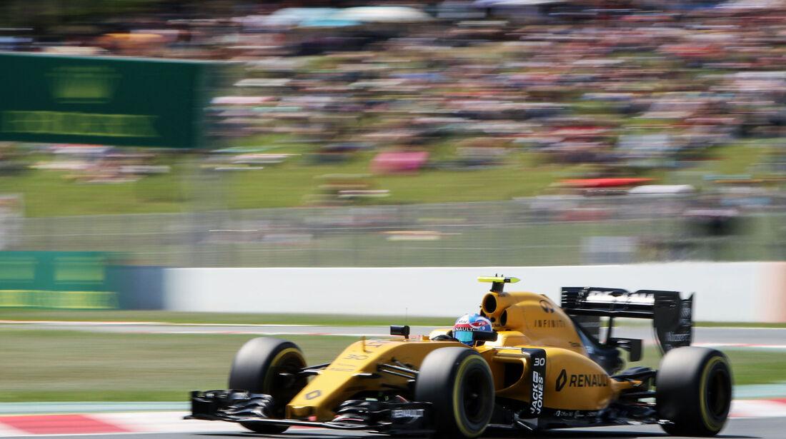 Jolyon Palmer - Renault - GP Spanien 2016 - Qualifying - Samstag - 14.5.2016
