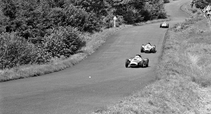 Juan Manuel Fangio - Stirling Moss - Peter Collins - GP Deutschland 1956