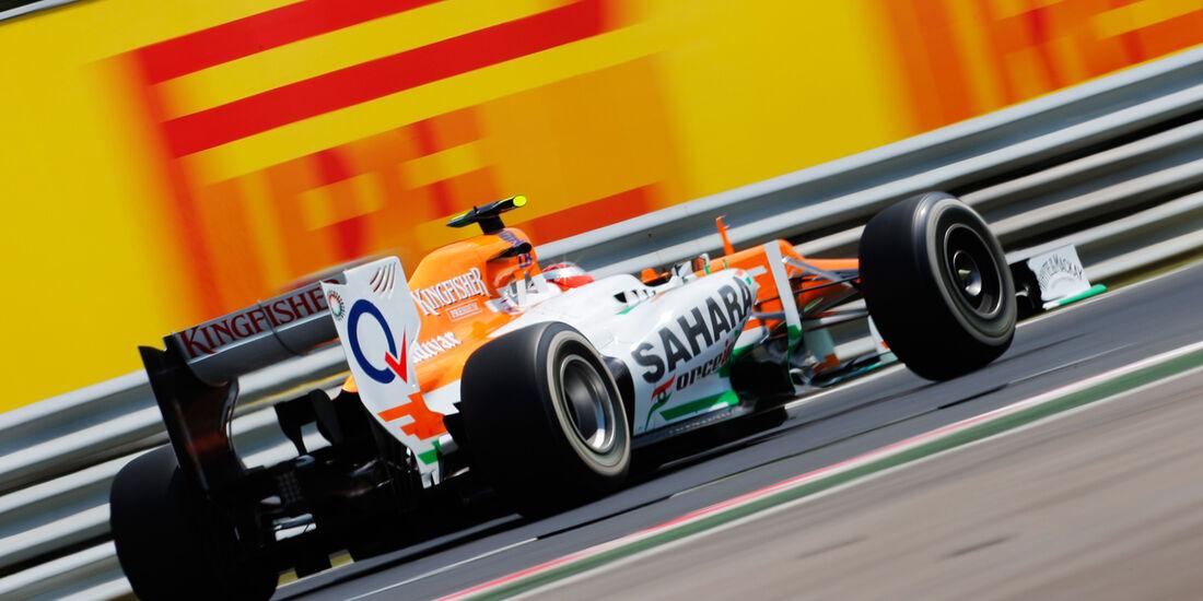 Jules Bianchi - Force India - Formel 1 - GP Ungarn - Budapest - 27. Juli 2012
