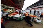 Jules Bianchi, Force India, Formel 1-Test, Barcelona, 22. Februar 2013