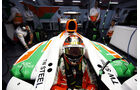 Jules Bianchi, Force India, Formel 1-Test, Barcelona, 22. Februar 2013