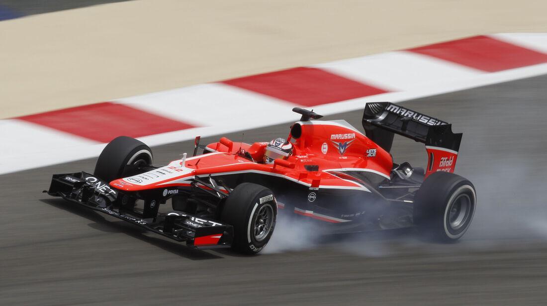 Jules Bianchi - GP Bahrain 2013