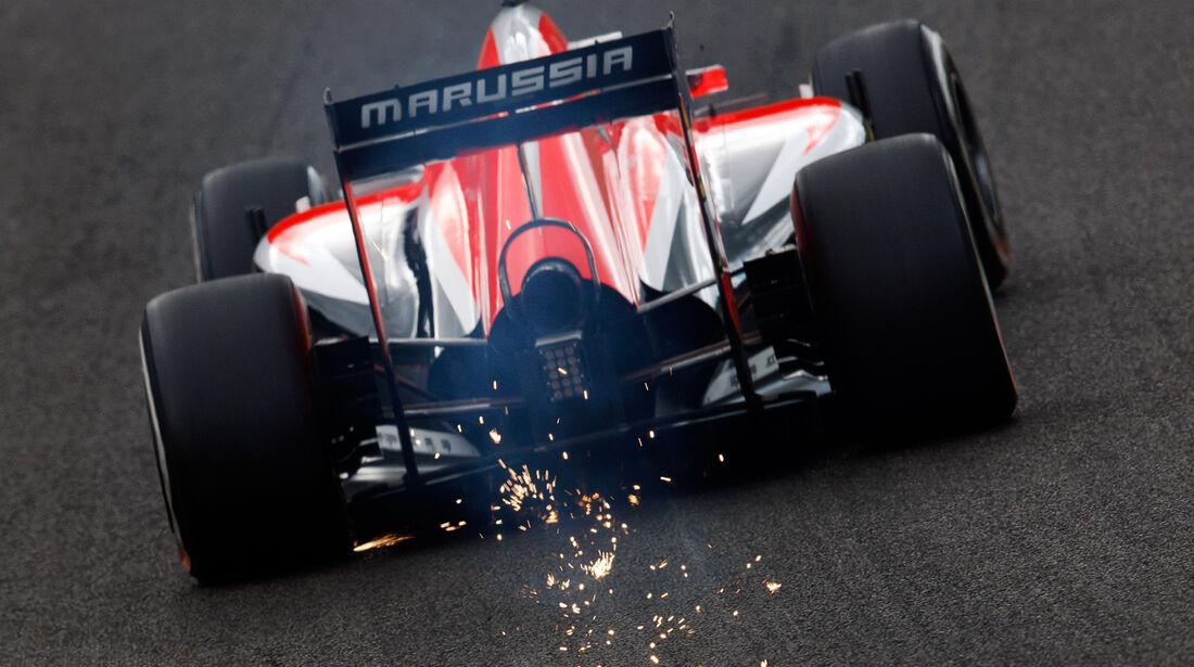 Jules Bianchi - Marussia - Formel 1 - GP Belgien - Spa-Francorchamps - 23. November 2014