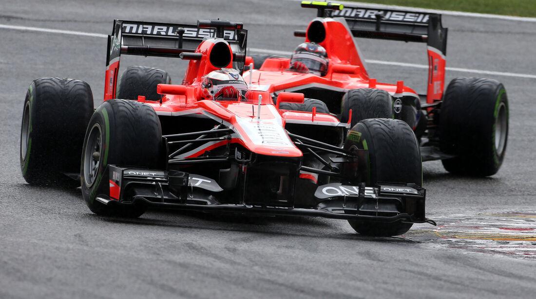 Jules Bianchi - Marussia - Formel 1 - GP Belgien - Spa-Francorchamps - 24. August