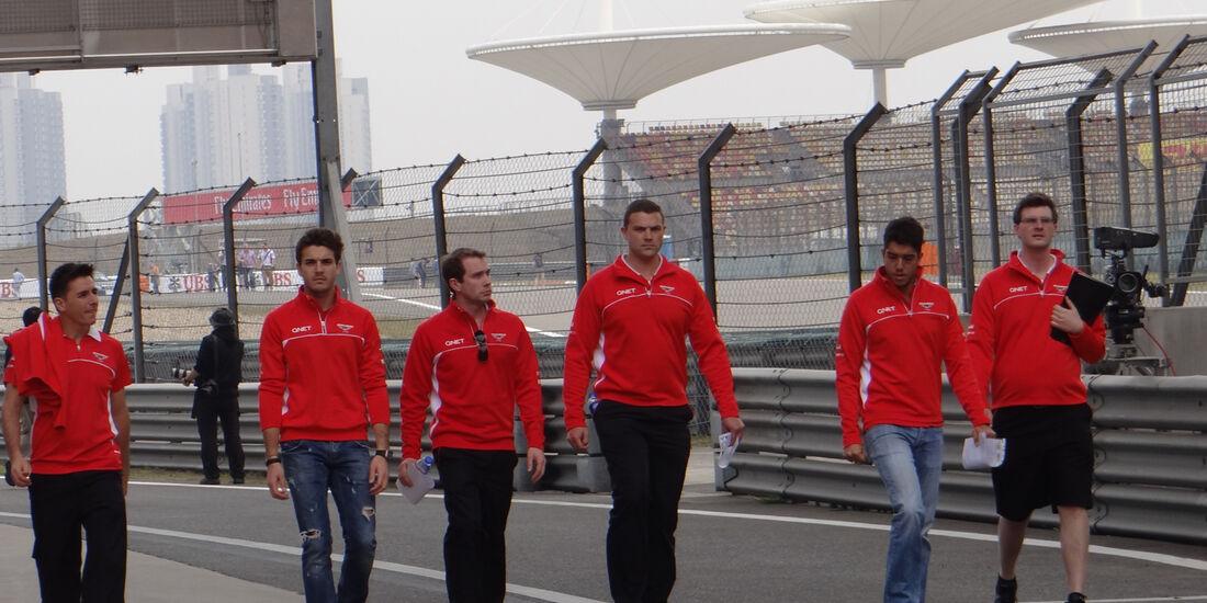 Jules Bianchi - Marussia - Formel 1 - GP China - 11. April 2013