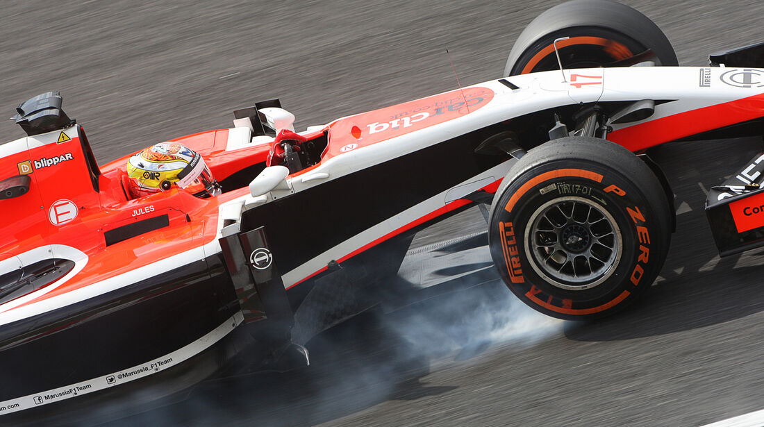 Jules Bianchi - Marussia - Formel 1 - GP Japan - 3. Oktober 2014