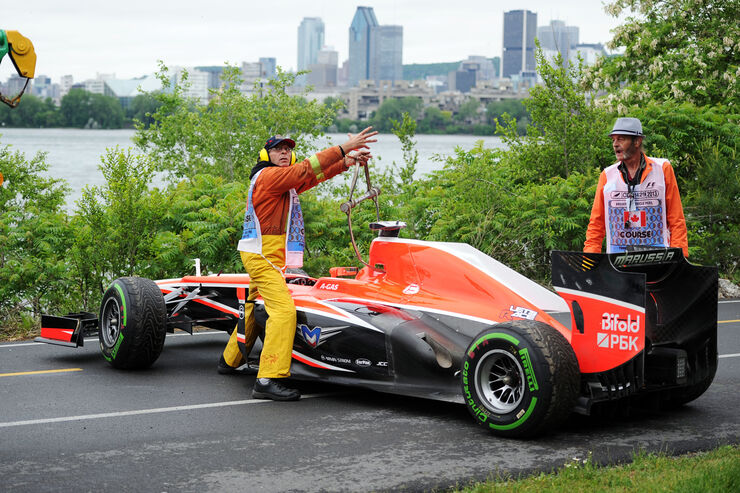 Jules Bianchi - Marussia - Formel 1 - GP Kanada - 7. Juni 2013