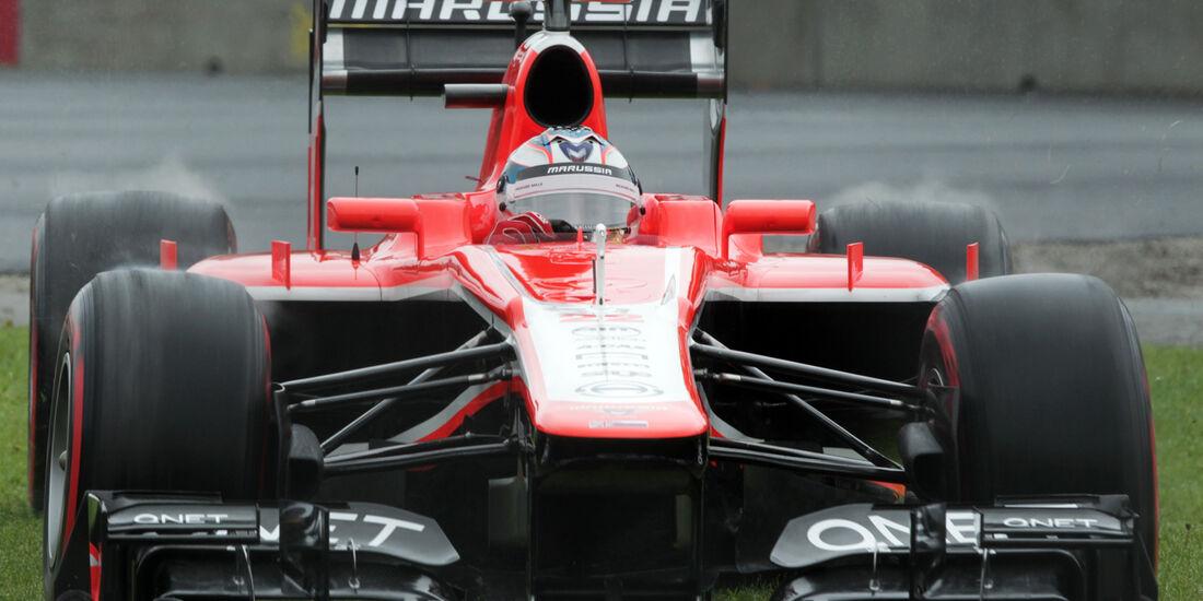 Jules Bianchi - Marussia - Formel 1 - GP Kanada - 8. Juni 2013