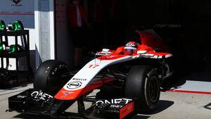 Jules Bianchi - Marussia - Formel 1 - GP Ungarn - 25. Juli 2014