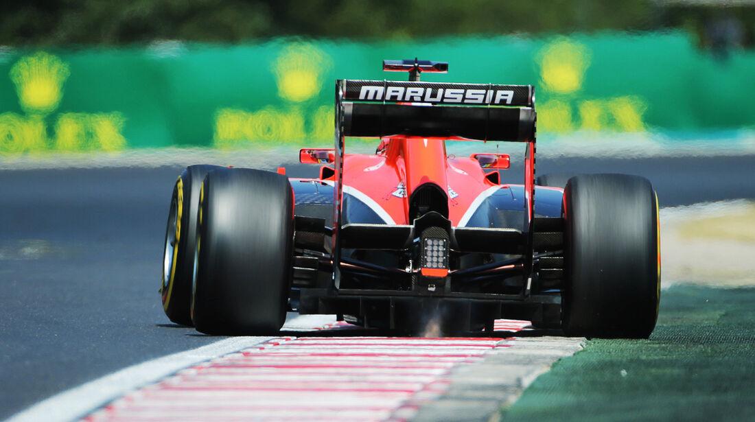 Jules Bianchi - Marussia - Formel 1 - GP Ungarn - 27. Juli 2013