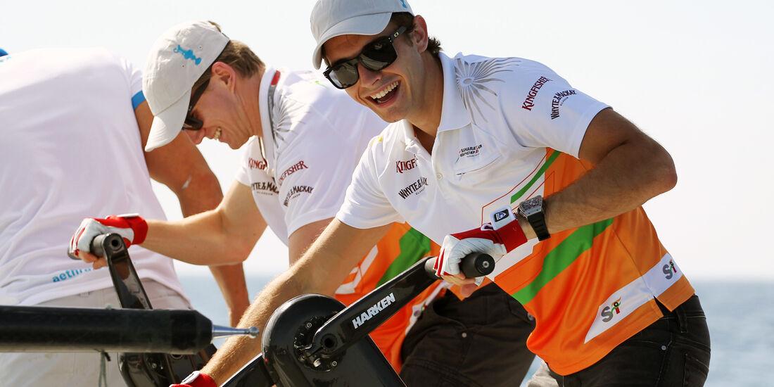 Jules Bianchi & Nico Hülkenbegr - Force India - GP Europa - Valencia - 21. Juni 2012