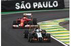 Juncadella & Räikkönen - Formel 1 - GP Brasilien - Sao Paulo - 7. November 2014