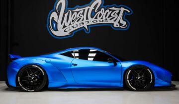 Justin Biebers Ferrari 458 Italia