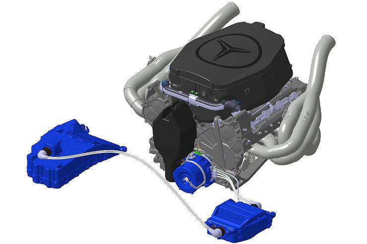 KERS System McLaren-Mercedes