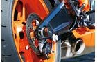 KTM 1190 RC8 R, Hinterrad