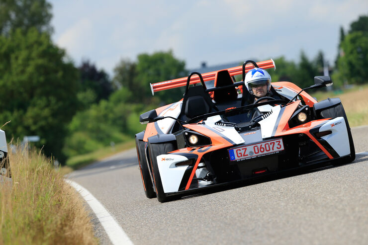 KTM X-Bow R, Frontansicht