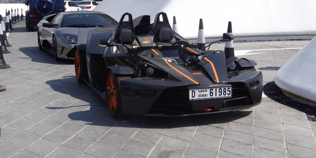 KTM X-Bow - Scheich Autos - GP Abu Dhabi 2012