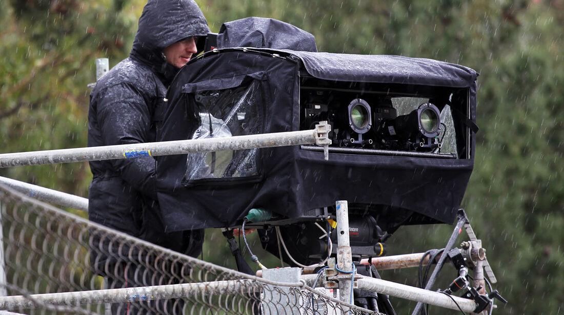 Kameramann, Formel 1-Test, Barcelona, 28. Februar 2013