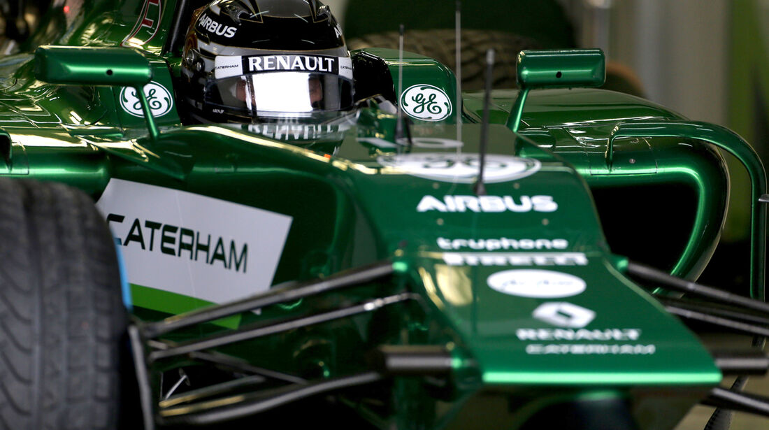 Kamui Kobayashi - Caterham - F1 Test Barcelona (1) - 13. Mai 2014