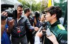 Kamui Kobayashi - Caterham - Formel 1 - GP Italien - 4. September 2014