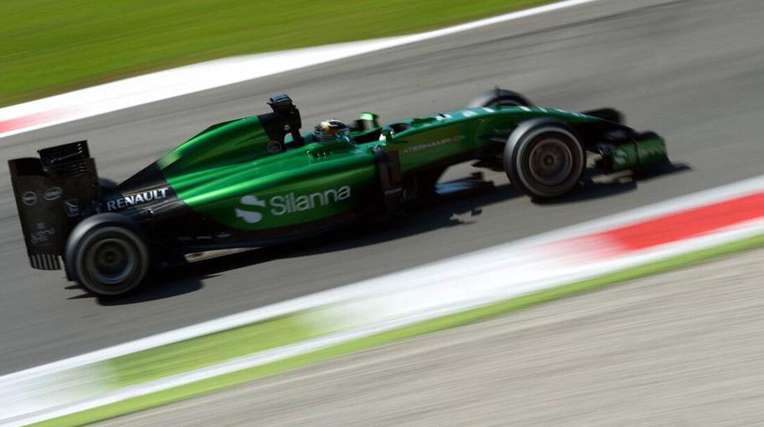 Kamui Kobayashi - Caterham - Formel 1 - GP Italien - 6. September 2014
