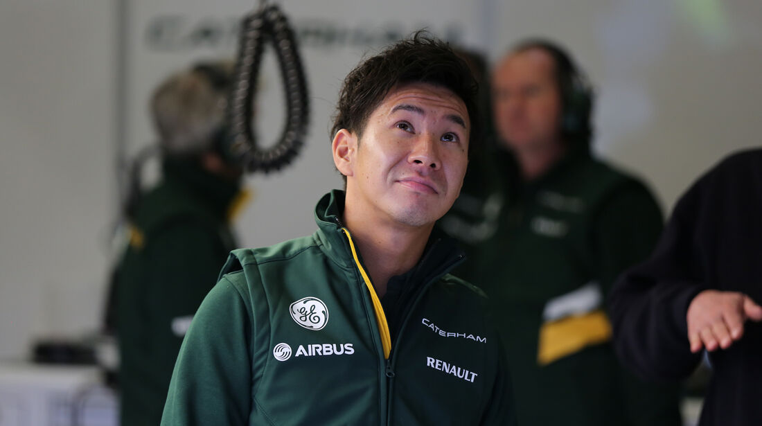 Kamui Kobayashi - Caterham - Formel 1 - Test - Jerez - 29. Januar 2014