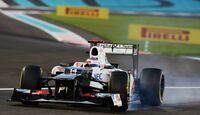 Kamui Kobayashi - Formel 1 - GP Abu Dhabi - 03. November 2012