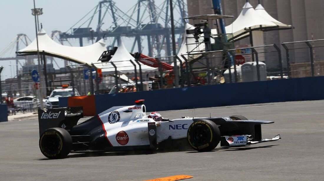 Kamui Kobayashi  - Formel 1 - GP Europa - 24. Juni 2012