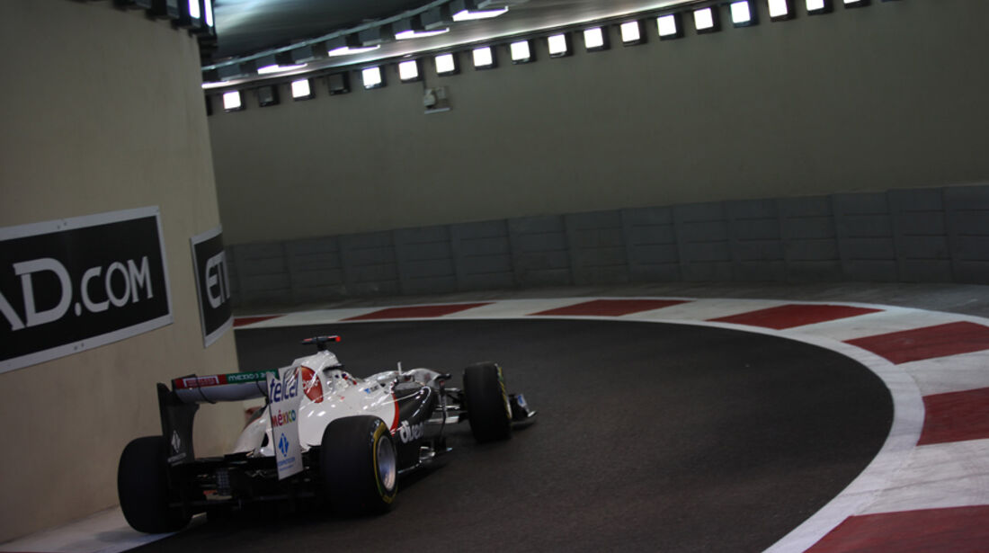 Kamui Kobayashi - GP Abu Dhabi - Freies Training - 11. November 2011