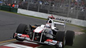 Kamui Kobayashi GP Australien 2011