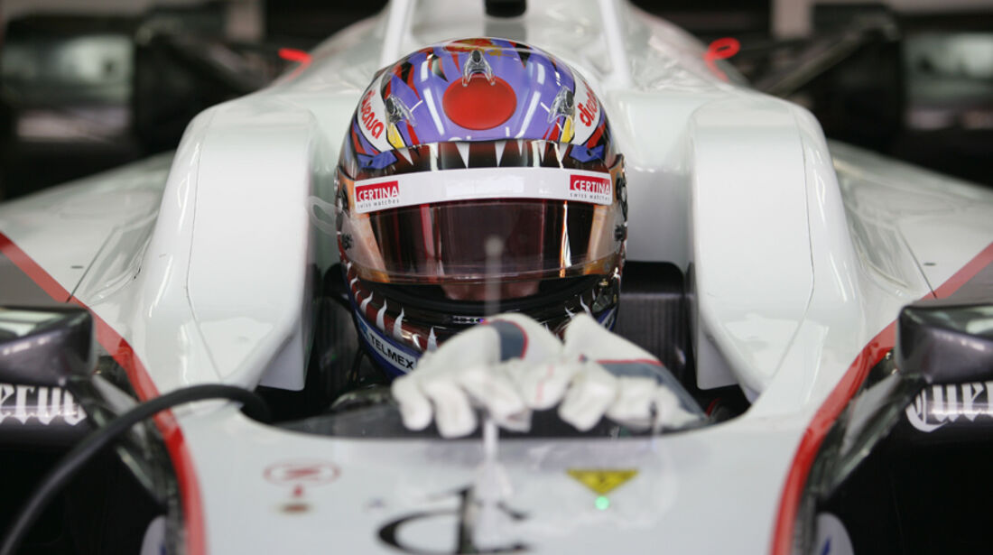 Kamui Kobayashi GP Brasilien 2011