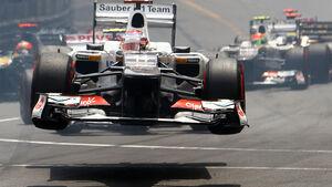Kamui Kobayashi - GP Monaco 2012