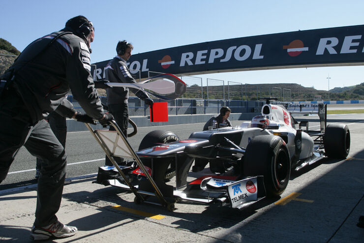 Kamui Kobayashi - Sauber - F1-Test Jerez 2012