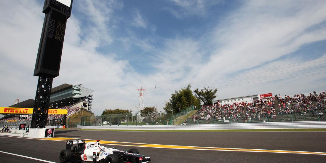 Kamui Kobayashi - Sauber - Formel 1 - GP Japan - Suzuka - 6. Oktober 2012