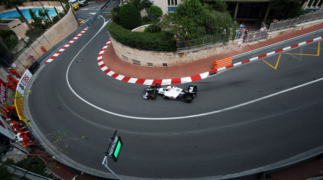 Kamui Kobayashi - Sauber - Formel 1 - GP Monado - 24. Mai 2012
