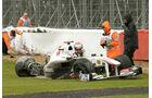 Kamui Kobayashi Sauber GP England 2011