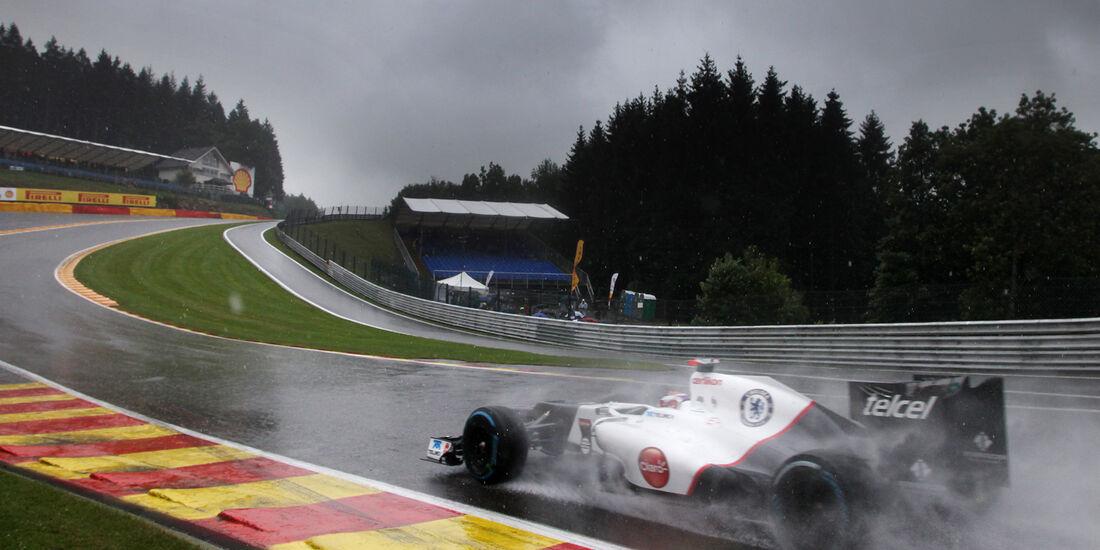 Kamui Kovayashi - Sauber - Formel 1 - GP Belgien - Spa-Francorchamps - 31. August 2012