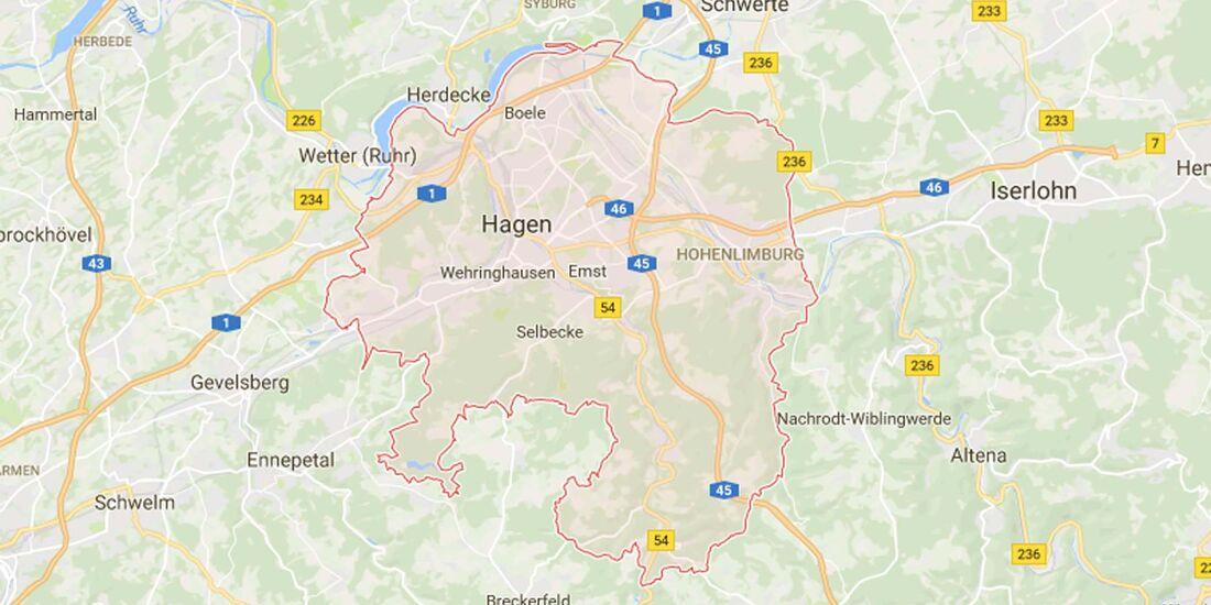 Karte Hagen