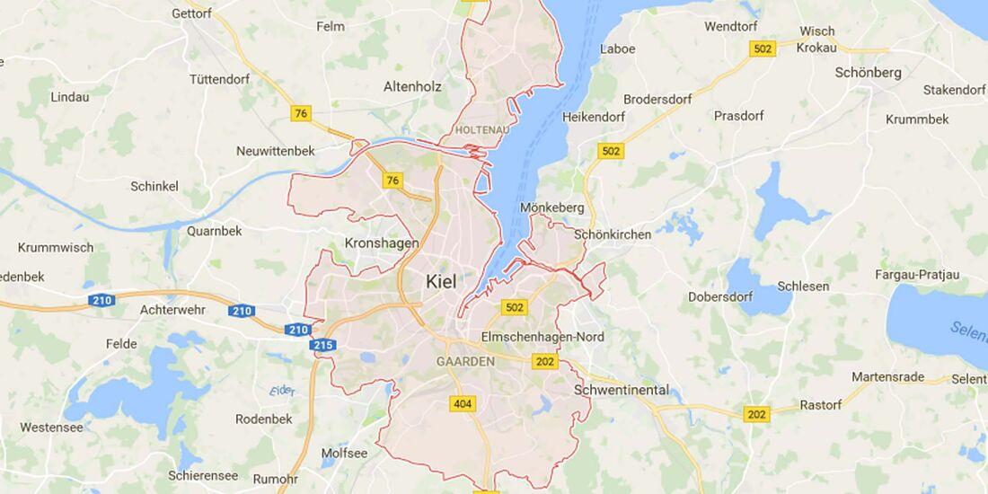Karte Kiel