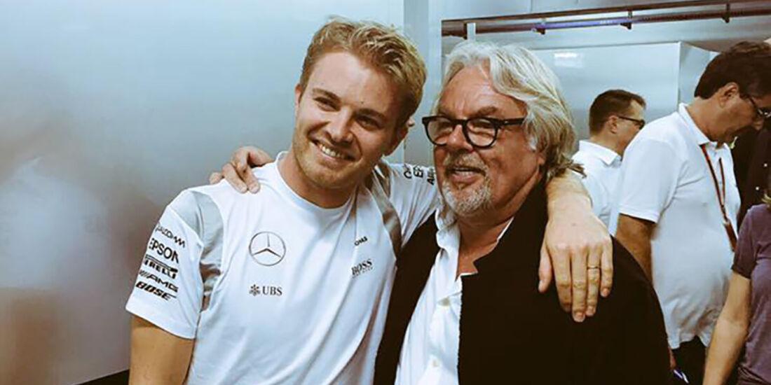 Keke & Nico Rosberg - GP Abu Dhabi 2016