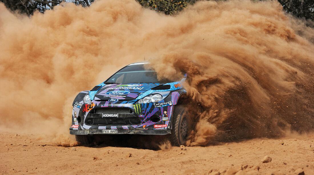 Ken Block, Ford Fiesta, Rallye-WM, Mexiko