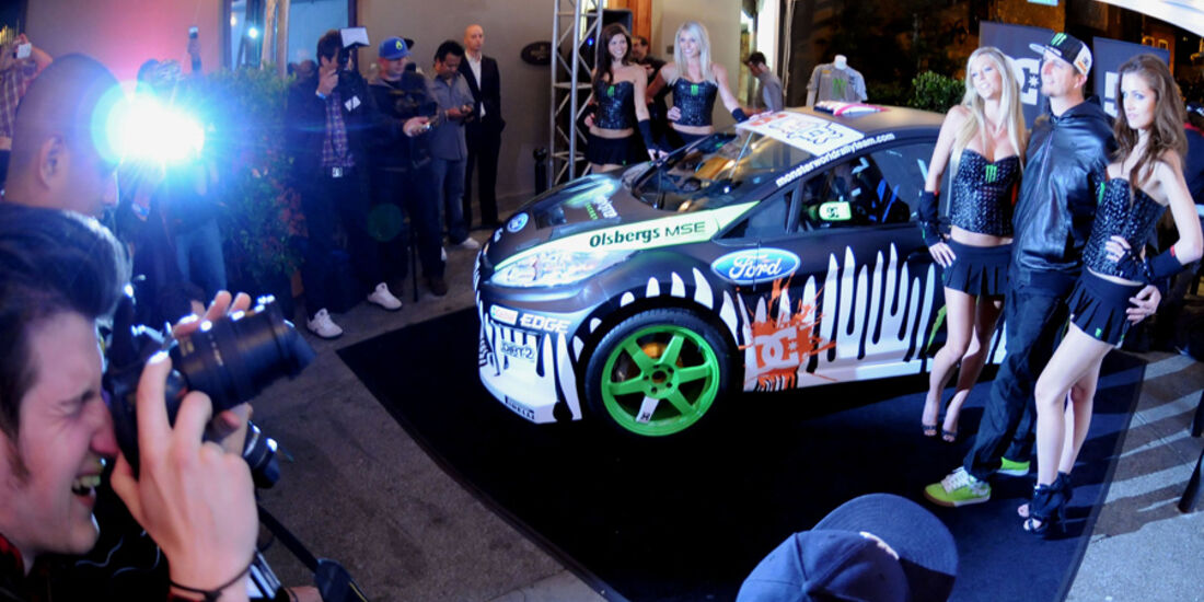Gymkhana 3 Video Ken Blocks Monster Ford Fiesta Auto Motor Und Sport
