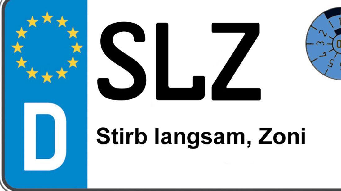 Kennzeichen-Bedeutung SLZ Bad Salzungen