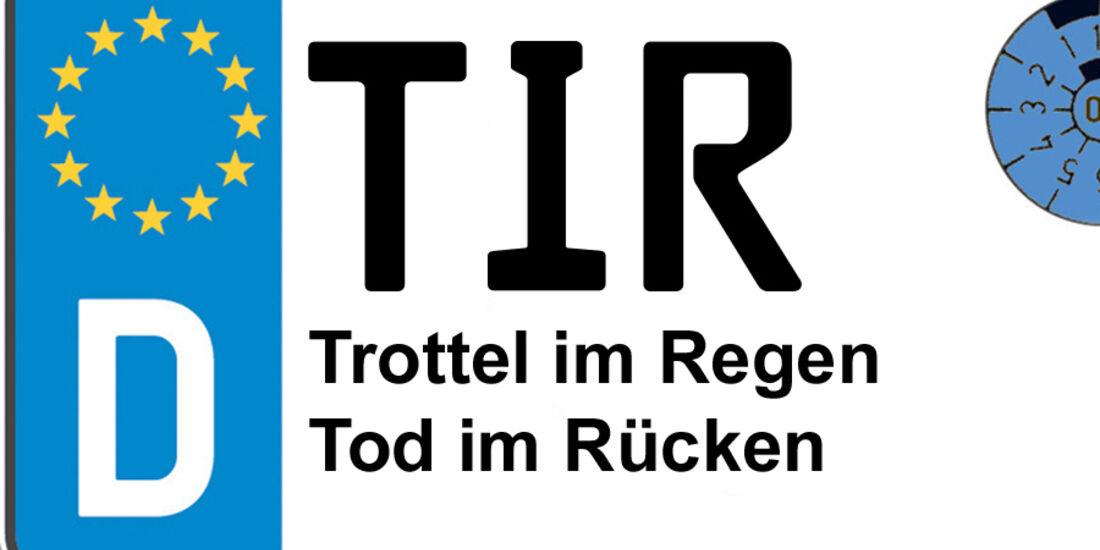 Kennzeichen-Bedeutung TIR Tirschenreuth