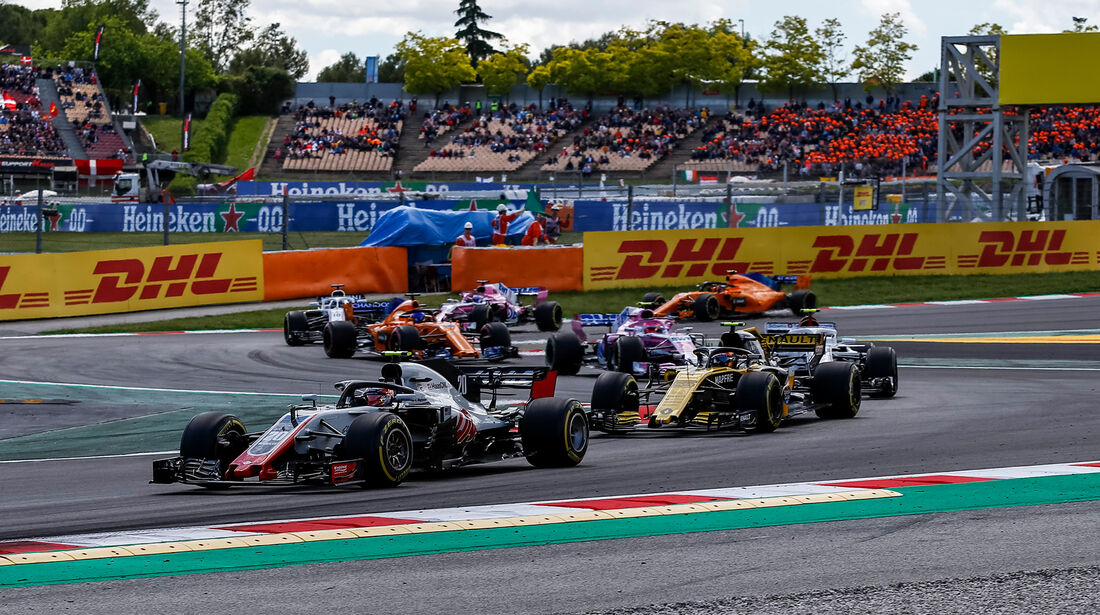 Kevin Magnussen - Formel 1 - GP Spanien 2018