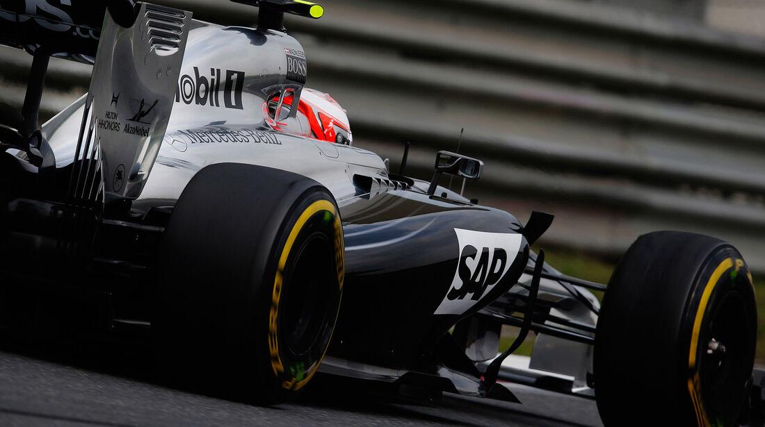 Kevin Magnussen - GP China 2014