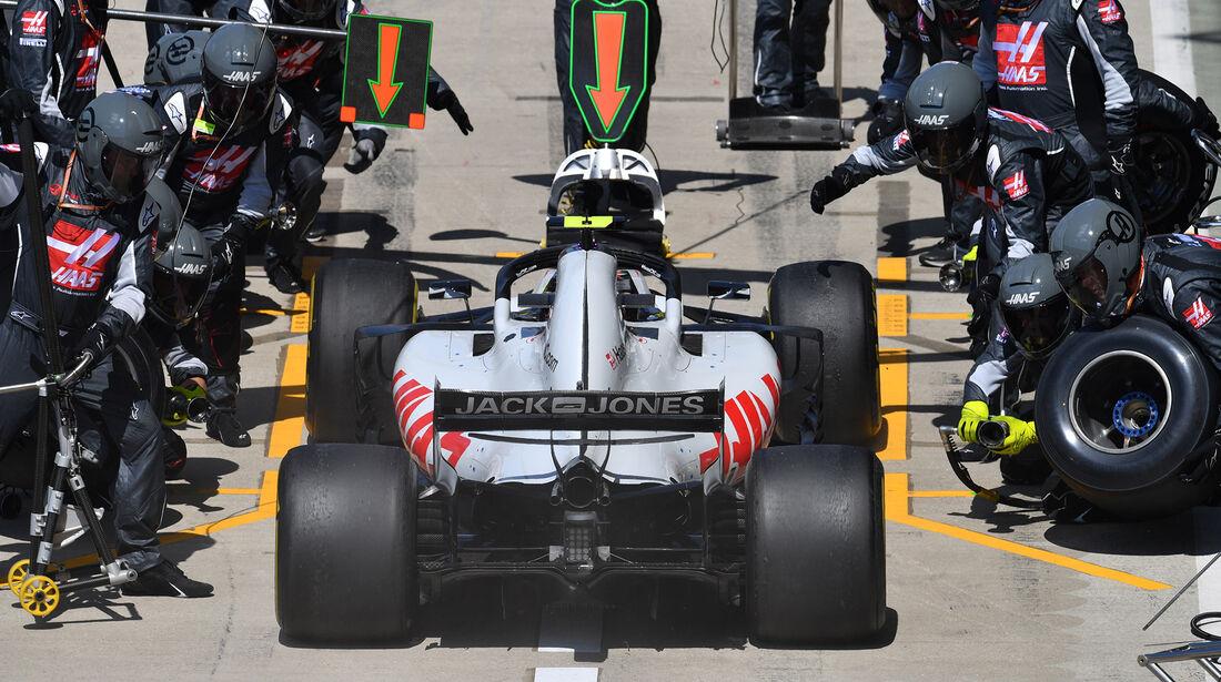 Kevin Magnussen - GP England 2018
