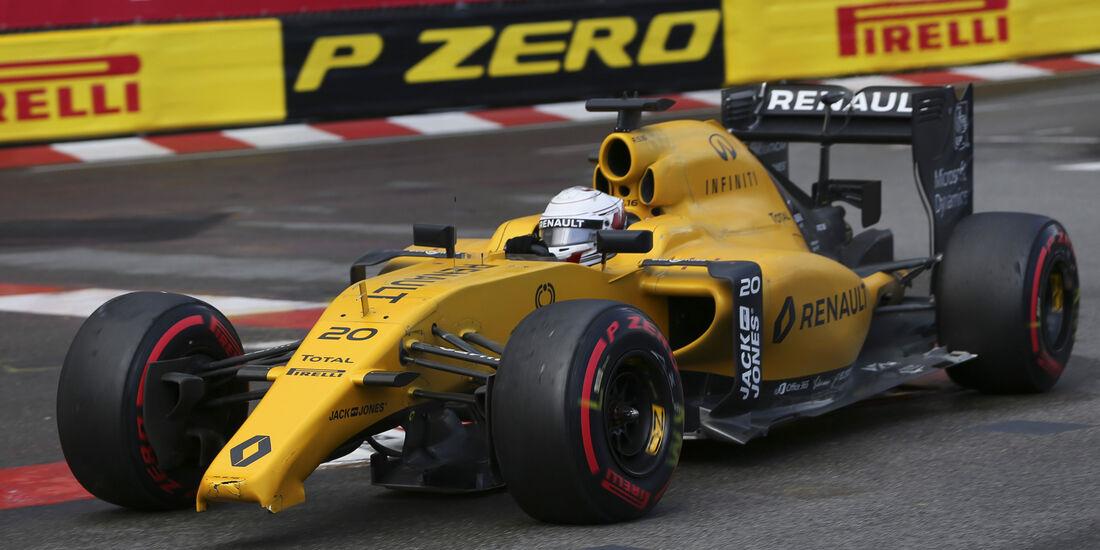 Kevin Magnussen - GP Monaco 2016