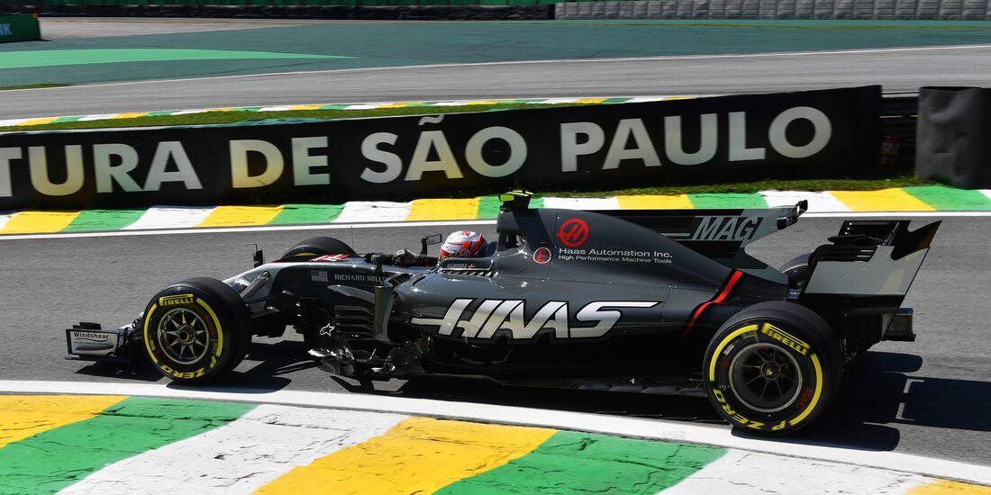 Kevin Magnussen - Haas - Formel 1 - GP Brasilien - 10. November 2017